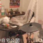 【SKE48の自宅】石田安奈さんのSKE48のポスターいっぱいの自宅【画像あり】