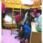 【女子小学生の部屋】戸澤あいりさんの二段ベッド自宅【画像あり】