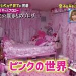 【有名ブロガーの自宅】ちいめろさんと琉ちゃろくんの超ピンク部屋自宅【画像あり】