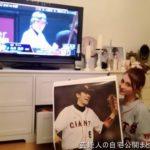 【野球好き】ダレノガレ明美さんのホワイトロイヤルな自宅【画像あり】