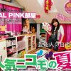 【モデル】野崎夏帆さんのド派手ピンク部屋【レア画像】