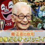 【ムツゴロウさん】畑正憲さんの動物大好きな自宅【画像あり】