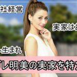 【造園会社経営】ダレノガレ明美さんの実家を特定完了【画像】