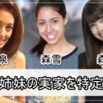 【森雪&森星】森泉さん姉妹の実家を特定完了【画像】