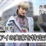【水曜日のカンパネラ】コムアイさんの実家を特定完了【画像】