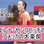 【テニス元世界女王】エレナ・ヤンコビッチ選手のアメリカの大豪邸自宅【画像】